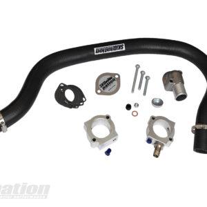 Mazda MX-5 complete coolant reroute kit