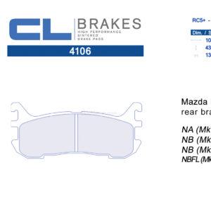 4106RC5+ / RC6 CL Brakes Mazda MX-5 Miata