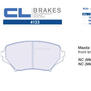 4133RC5+ / RC6 CL Brakes Mazda MX-5 Miata