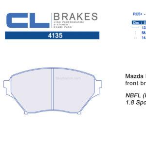 4135RC5+ / RC6 CL Brakes Mazda MX-5 Miata