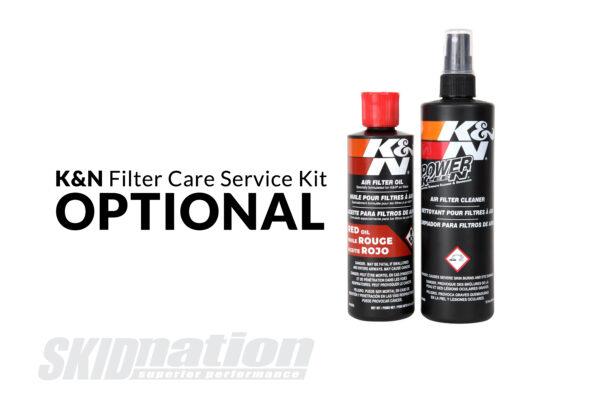 K&N filter care service kit optional