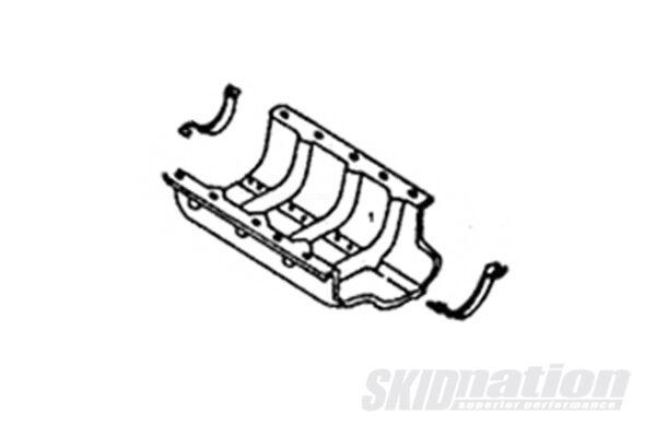 MX-5 front & rear halfmoon oil pan gasket placement