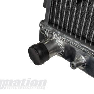 Mazda MX-5 NA SkidNation aluminium radiator outlet