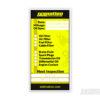 SkidNation service label sticker
